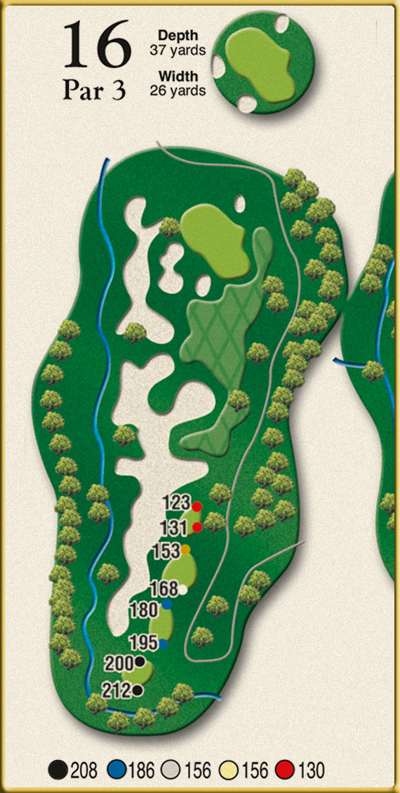 Crow Creek Golf Hole 16