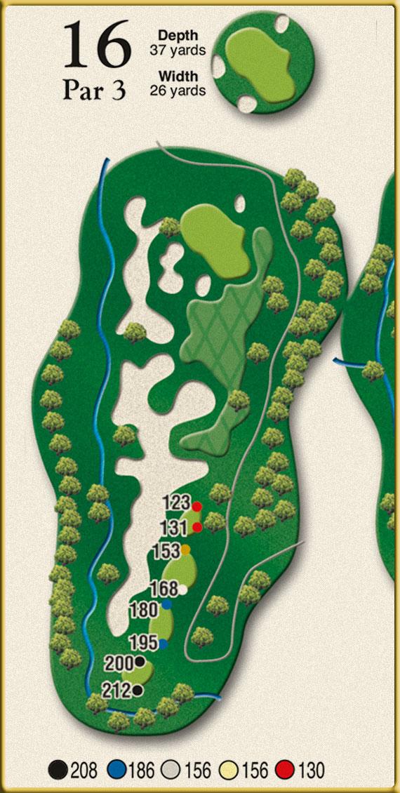 Crow Creek Golf Hole 16