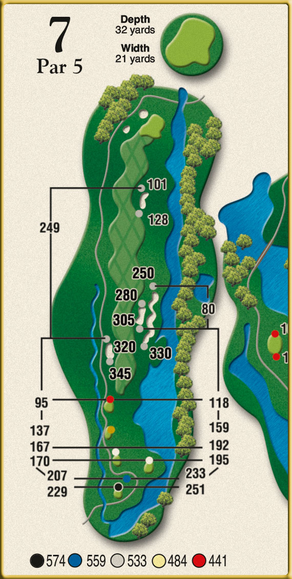 Crow Creek Golf Hole 7