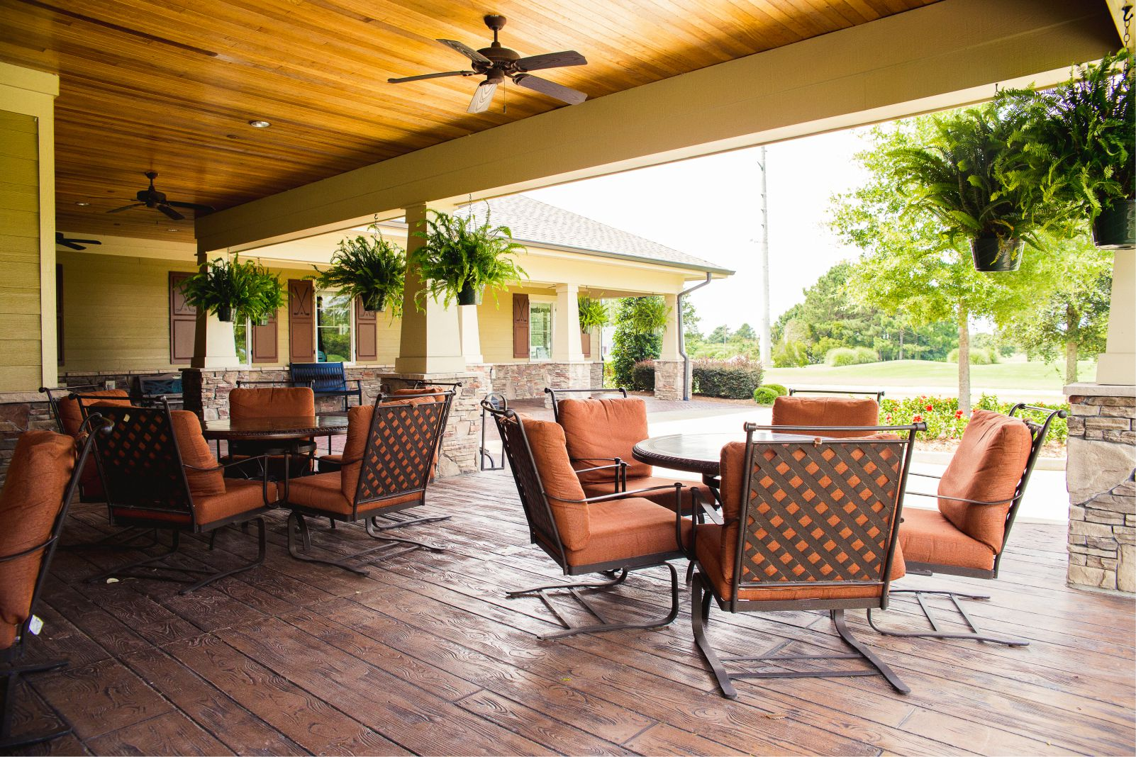 Crow Creek Golf Course Patio