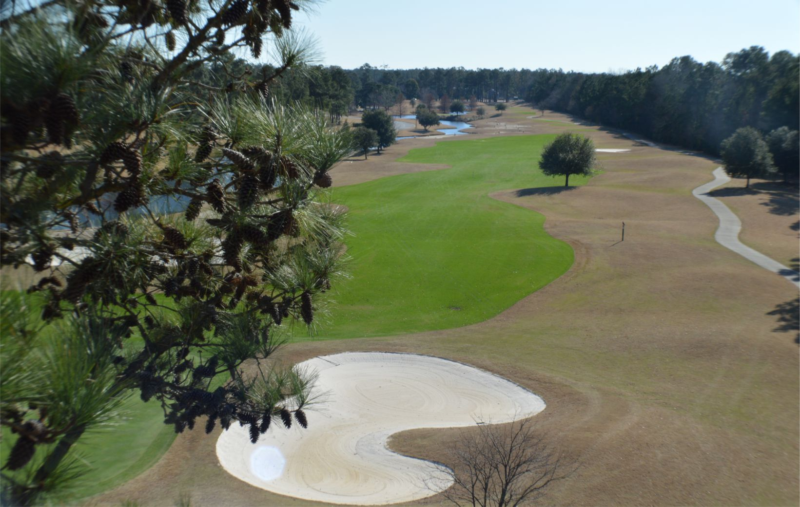 Crow Creek Golf Course Number 14