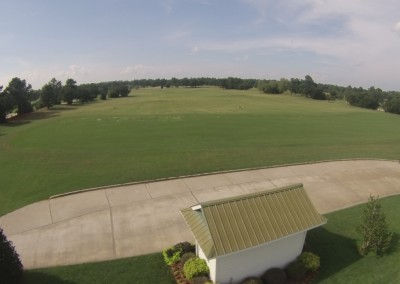 Crow Creek Driving Range Aerial